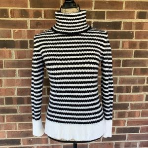 Like new Banana Republic wool striped sweater